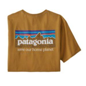 Patagonia Men's P6 Mission Responsibili-Tee Oaks Brown