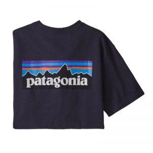 Patagonia Men's P6 Logo Responsibili-Tee Piton Purple