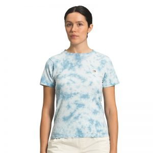 The North Face Women's Tie Dye Tee Blue Wash