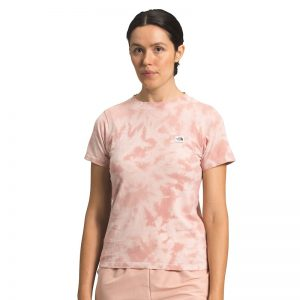The North Face Women's Tie Dye Tee Pink Wash