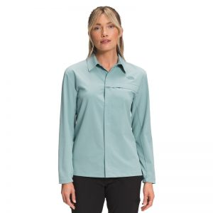 The North Face Women's First Trail UPF Silver Blue