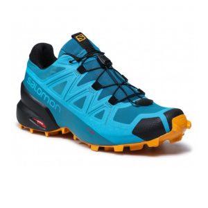 Salomon Men's Speedcross 5 Crystal Teal/Barrier Reef/Golden Oak